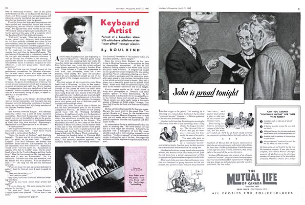 Article Preview: Keyboard Artist, April 1942 | Maclean's
