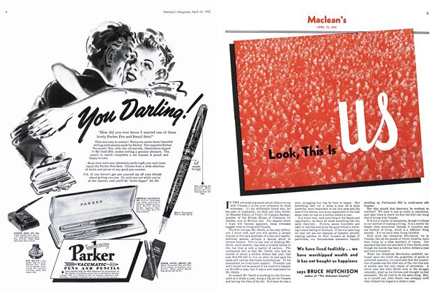 Article Preview: Look, This Is us, April 1942 | Maclean's