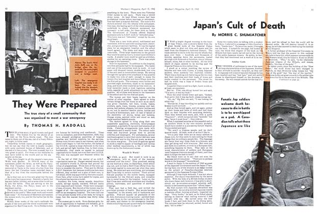 Article Preview: They Were Prepared, April 1942 | Maclean's