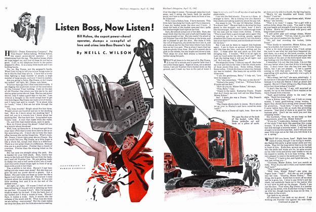 Article Preview: Listen Boss, Now Listen!, April 1942 | Maclean's
