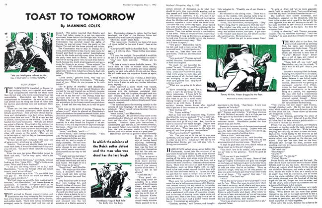 Article Preview: TOAST TO TOMORROW, May 1942 | Maclean's