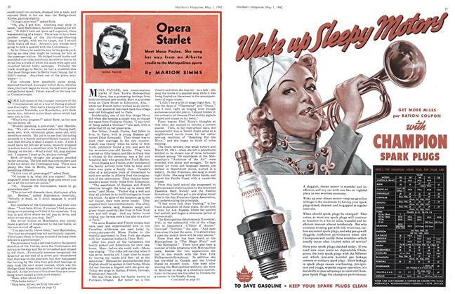 Article Preview: Opera Starlet, May 1942 | Maclean's