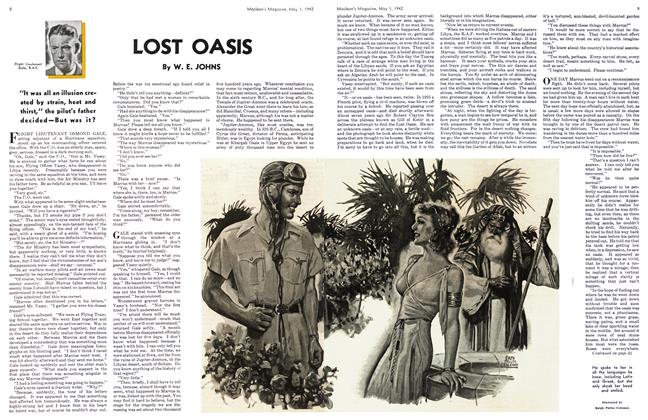 Article Preview: LOST OASIS, May 1942 | Maclean's