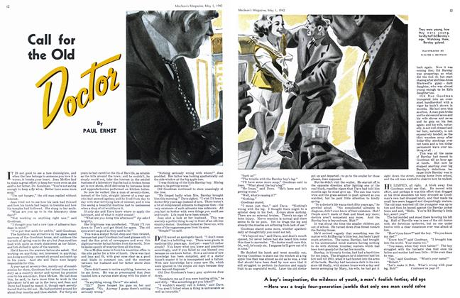 Article Preview: Call for the Old Doctor, May 1942 | Maclean's