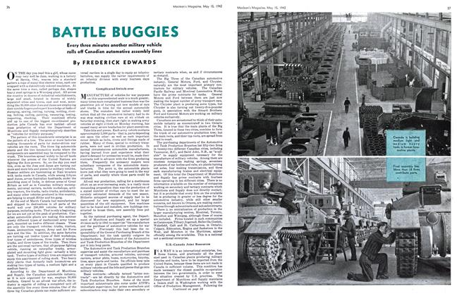 Article Preview: BATTLE BUGGIES, May 1942 | Maclean's