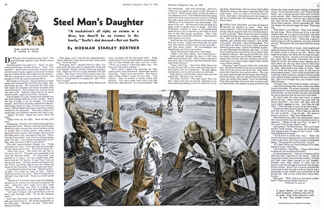 Article Preview: Steel Man*s Daughter, May 1942 | Maclean's