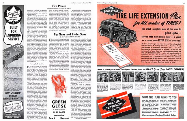 Article Preview: Big Guns and Little Guns, May 1942 | Maclean's