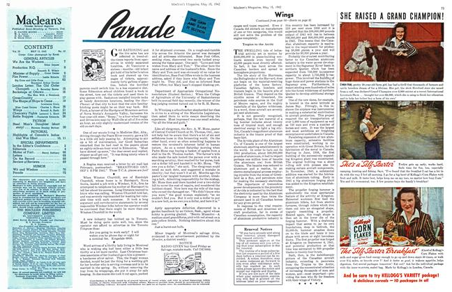 Article Preview: Parade, May 1942 | Maclean's