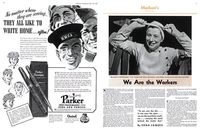 Article Preview: We Are the Workers, May 1942 | Maclean's