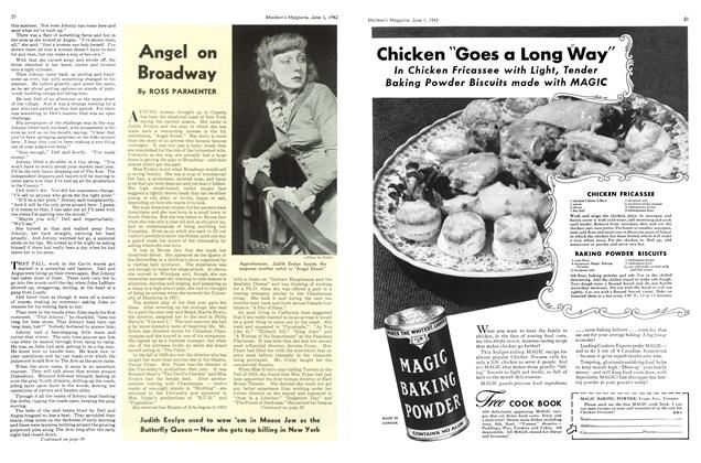 Article Preview: Angel on Broadway, June 1942 | Maclean's