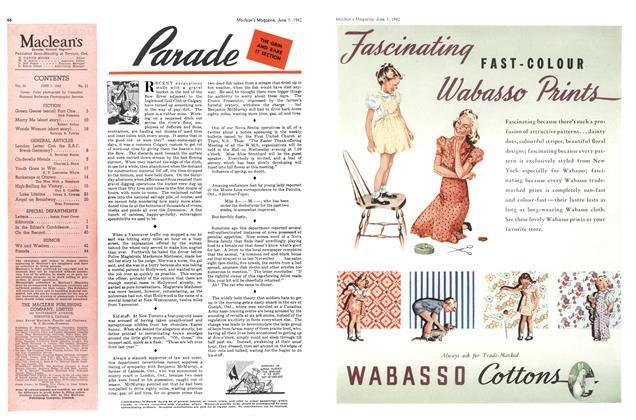 Article Preview: Parade, June 1942 | Maclean's