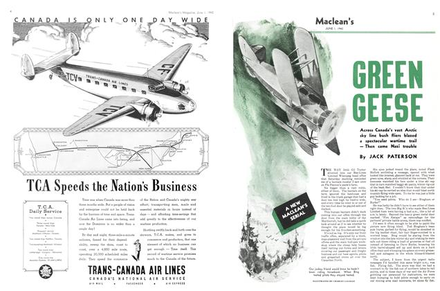 Article Preview: GREEN GEESE, June 1942 | Maclean's