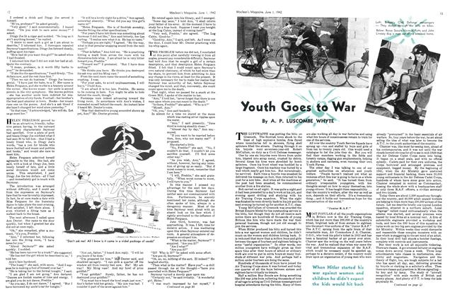 Article Preview: Youth Goes to War, June 1942 | Maclean's