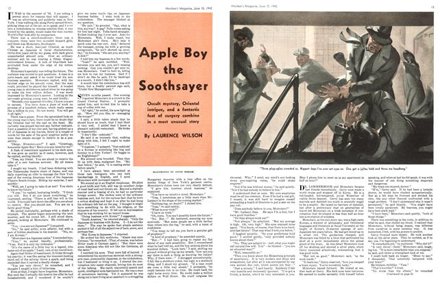 Article Preview: Apple Boy the Soothsayer, June 1942 | Maclean's