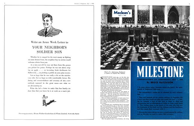Article Preview: MILESTONE, July 1942 | Maclean's