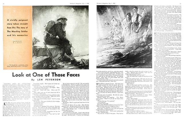 Article Preview: Look at One of Those Faces, July 1942 | Maclean's