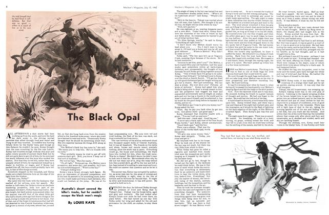 Article Preview: The Black Opal, July 1942 | Maclean's