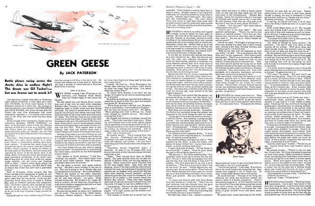 Article Preview: GREEN GEESE, August 1942 | Maclean's