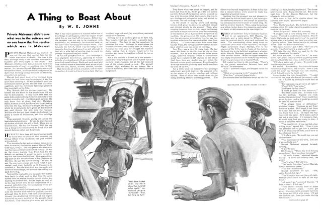 Article Preview: A Thing to Boast About, August 1942 | Maclean's