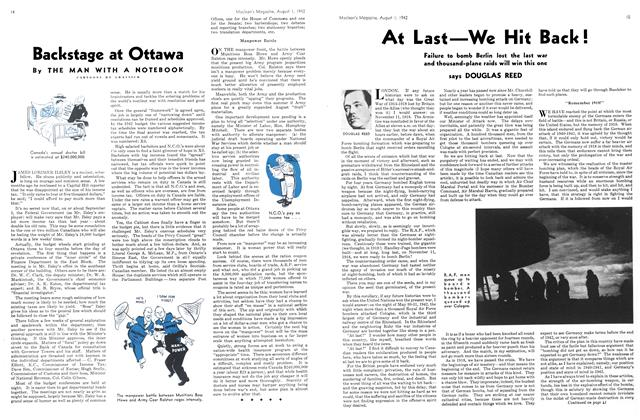 Article Preview: At Last—We Hit Back!, August 1942 | Maclean's