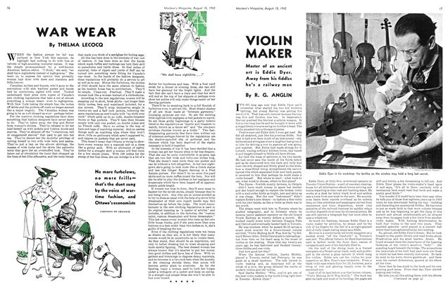 Article Preview: WAR WEAR, August 1942 | Maclean's