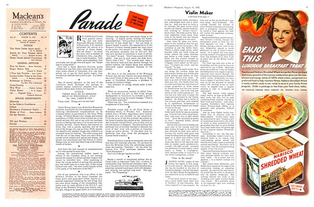 Article Preview: Parade, August 1942 | Maclean's