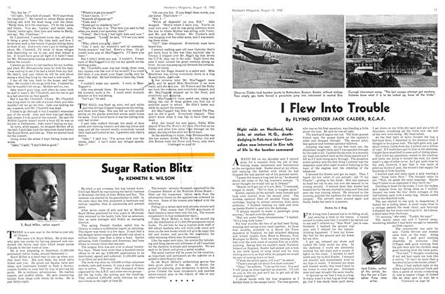 Article Preview: I Flew Into Trouble, August 1942 | Maclean's