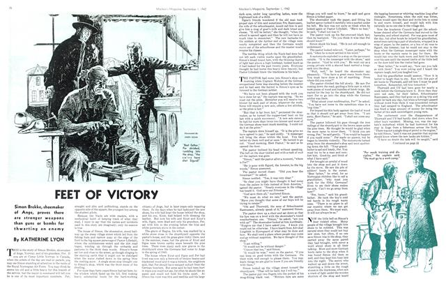 Article Preview: FEET OF VICTORY, September 1942 | Maclean's