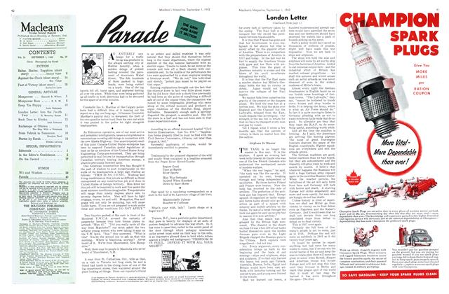 Article Preview: Parade, September 1942 | Maclean's