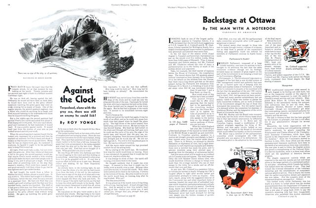 Article Preview: Against the Clock, September 1942 | Maclean's