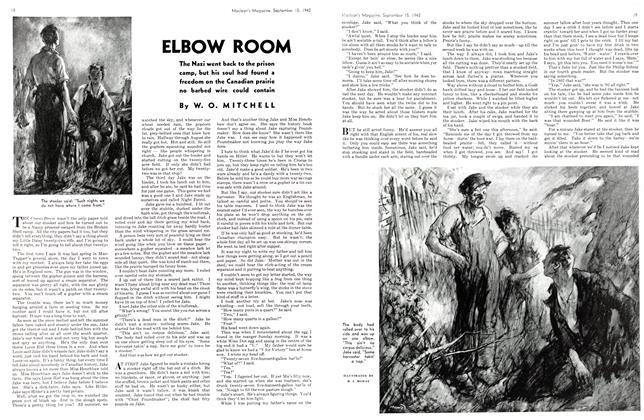Article Preview: ELBOW ROOM, September 1942 | Maclean's