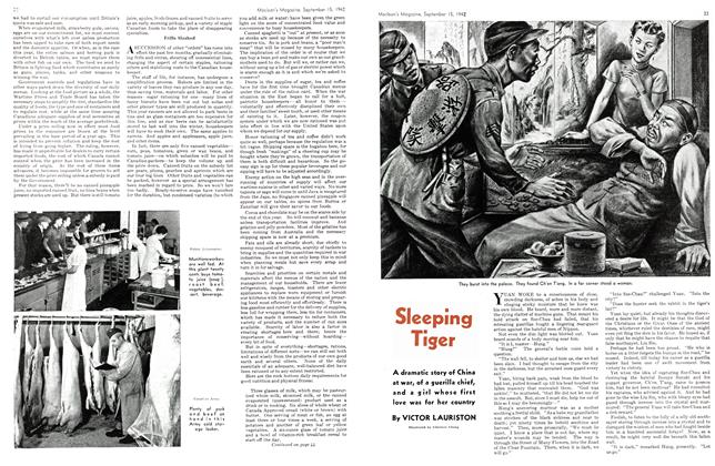 Article Preview: Sleeping Tiger, September 1942 | Maclean's