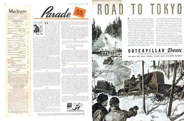 Article Preview: Parade, October 1942 | Maclean's
