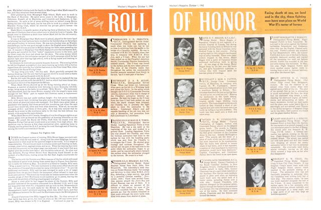 Article Preview: ROLL OF HONOR, October 1942 | Maclean's