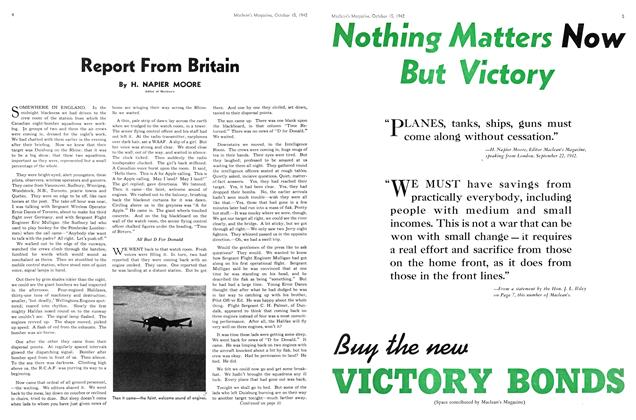 Article Preview: Report From Britain, October 1942 | Maclean's
