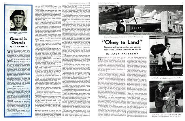 "Article Preview: ""Okay to Land"", November 1942 