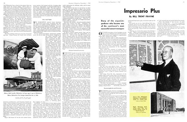 Article Preview: Impresario Plus, November 1942 | Maclean's