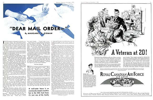 "Article Preview: ""DEAR MAIL ORDER—"", November 1942 