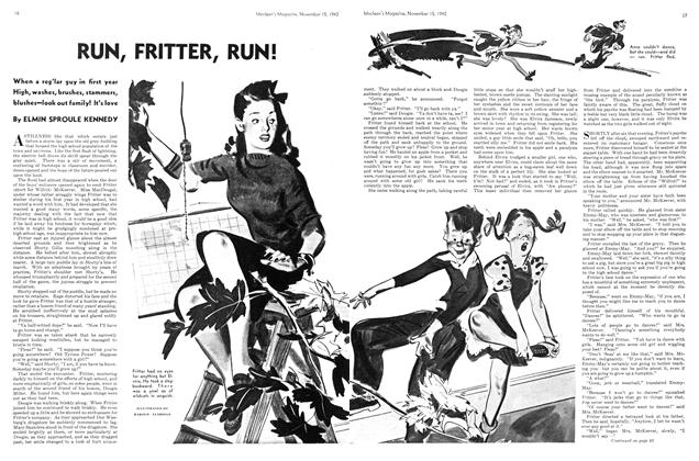Article Preview: RUN, FRITTER, RUN!, November 1942 | Maclean's