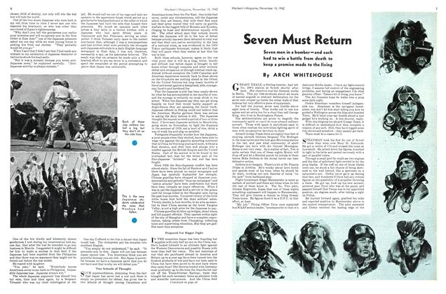 Article Preview: Seven Must Return, November 1942 | Maclean's
