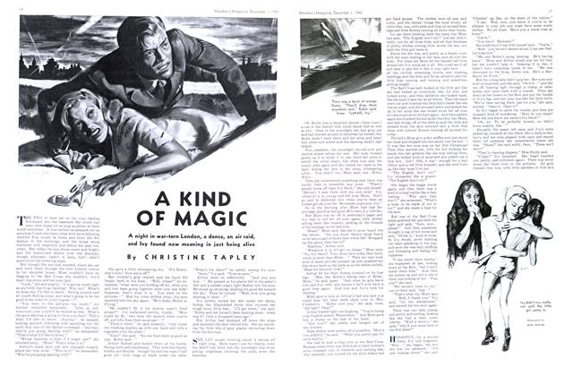 Article Preview: A KIND OF MAGIC, December 1942 | Maclean's