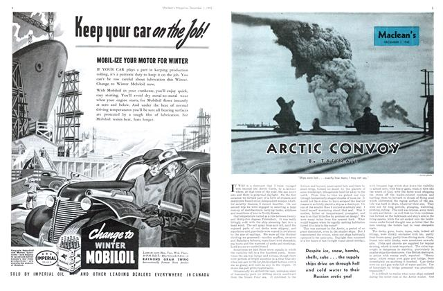 Article Preview: ARCTIC CONVOY, December 1942 | Maclean's