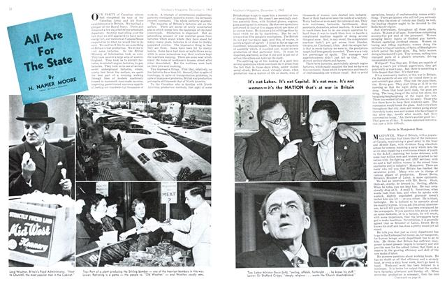 Article Preview: All Are For The State, December 1942 | Maclean's
