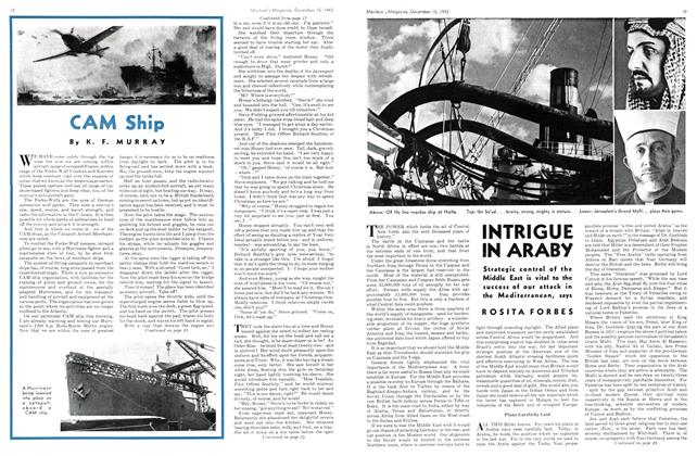Article Preview: INTRIGUE IN ARABY, TORONTO DECEMBER 15 1942 1942 | Maclean's