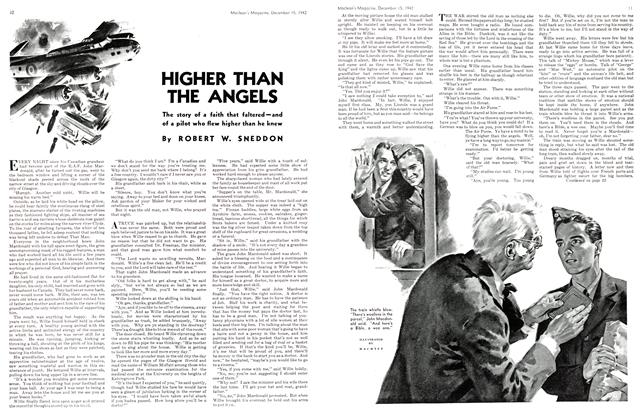 Article Preview: HIGHER THAN THE ANGELS, TORONTO DECEMBER 15 1942 1942 | Maclean's