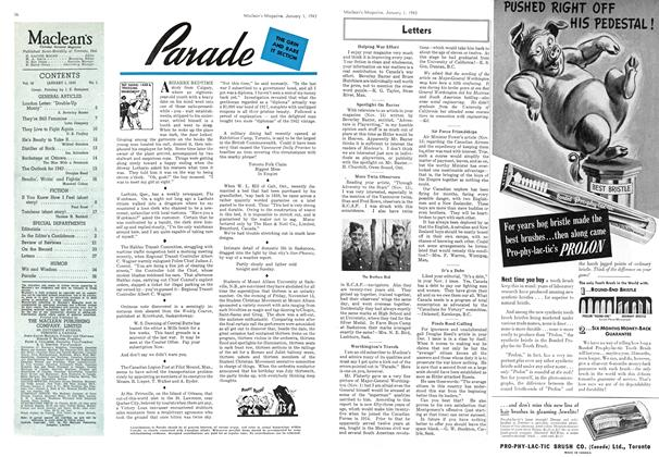 Article Preview: Parade, January 1943 | Maclean's