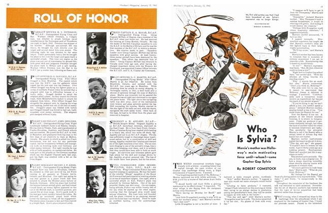 Article Preview: Who Is Sylvia?, January 1943 | Maclean's
