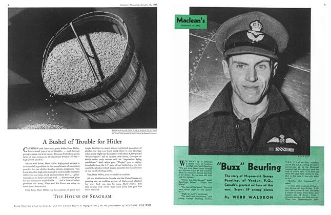 "Article Preview: ""Buzz"" Beurling, January 1943 