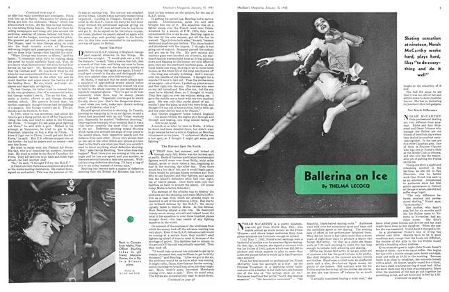 Article Preview: Ballerina on Ice, January 1943 | Maclean's