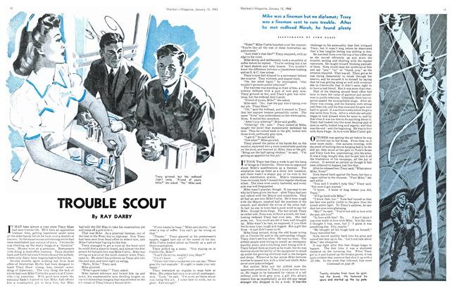 Article Preview: TROUBLE SCOUT, January 1943 | Maclean's